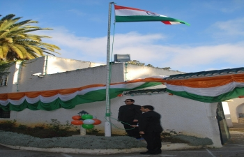 65th Republic Day of India Flag Hoisting Ceremony