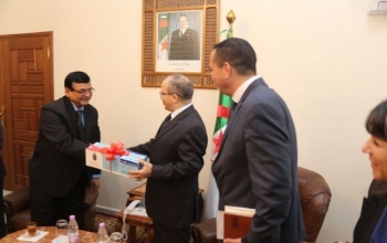 Donation of veterinary vaccines against FMD by India to Algeria