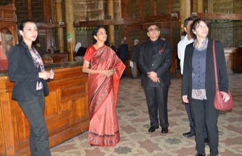 Visit of H.E. Mrs. Nirmala Sitharaman, Honorable Minister of State (IC) Commerce and Industry to Algeria from May 25-27, 2015