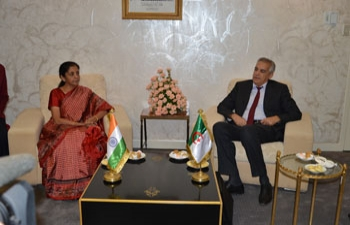 9th Session of India-Algeria Joint Commission Meeting (JCM) Concluding Session on 26 May, 2015