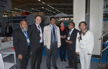 Maghreb Pharma Expo, Algiers held from 8-10 November 2016 (Visit on 10 November 2016 by Ambassador to  booth set up by Indian pharma companies)