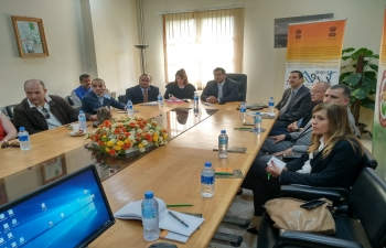 Interactive session on Facilitation of Indian Tourism under the framework of Incredible India An Indian travel agency gave a presentation on tourism while nine Algerian tourism agencies participated in the interactive Session.