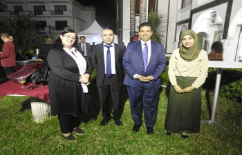 Embassy of India, Algiers celebrated ITEC day on 8th November 2018 at Embassy Lawns. More than 40 guests, including the ITEC alumni and Senior Algerian Foreign Ministry officials attended the event.