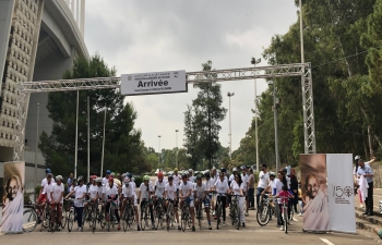 Embassy of India in Algeria organizes Cycling Event to commemorate 150th Birth Anniversary of Mahatma Gandhi at Algiers on 22nd June 2019