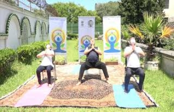 Yoga Video 5 - Yoga for elderly, and people with rheumatism, a yoga that will keep away  diseases.